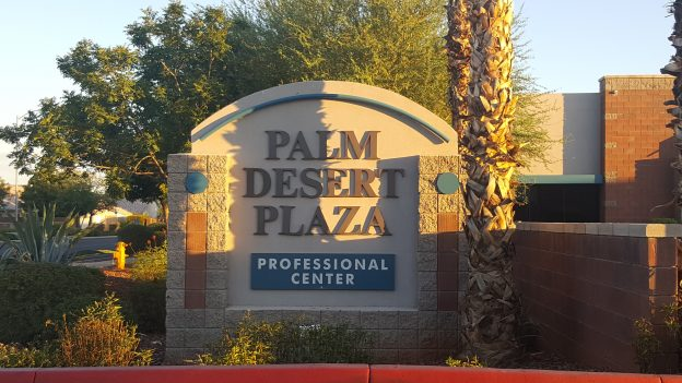 Our law firm can be found in the Palm Desert Plaza, Avondale, AZ
